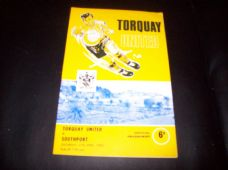 Torquay United v Southport, 1967/68